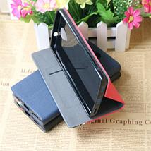 Чехол книжка для BQ Mobile BQS-5502 Hammer красный, фото 3