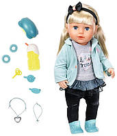 Кукла Zapf Baby Born Сестренка Модница 43 см с аксессуарами (824245), фото 1