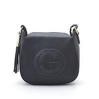 Клатч повседневный черный Gucci style
