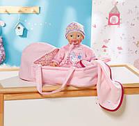 Пупс Baby Born Zapf Creation 820322 С одеялом, соской и сумкой-переноской
