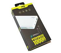 Универсальная мобильная батарея 10000 mAh, Digi, White, Li-Pol, 2xUSB, 1.5A + 2A, (LP-107)