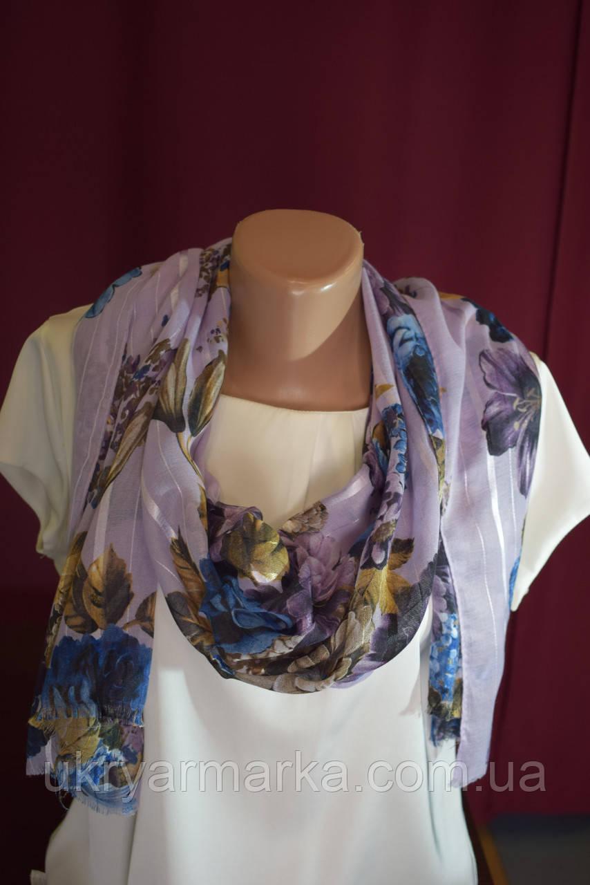 """Жіночий літній шарф """"Віолетта"""""""