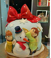 Торт на Новый Год 09