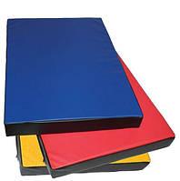 Мат гимнастический для детей «Мат 100х80» ТМ SportBaby  Разноцветный Мат 100х80