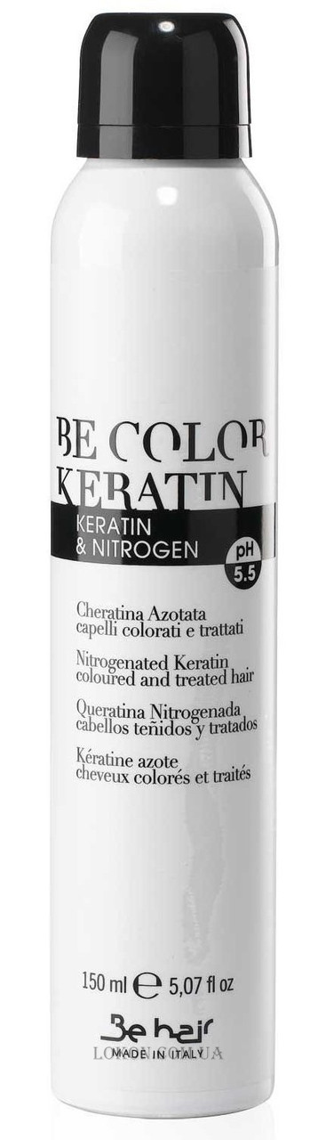 BE HAIR Be Color Keratin Nitrogenated Spray - Спрей с кератином и нитрогеном для повреждённых волос 150 мл