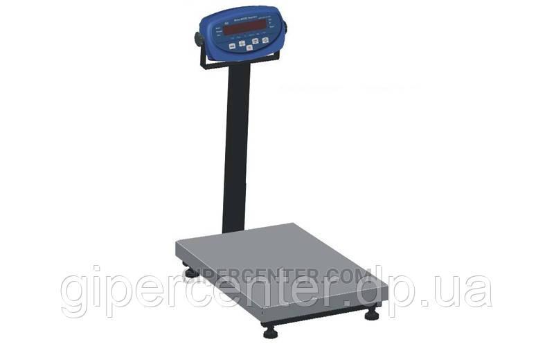 Товарные весы BDU150C-0808 бюджет 800х800 мм (со стойкой)