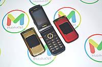 Сенсорный телефон раскладушка М3 TKEXUN, 2sim, Fm, MP3/MP4