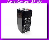 Аккумулятор для весов BP-480 4V4.5AH,Аккумуляторная батарея BP-480