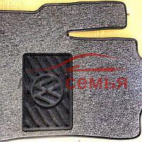 Ковры текстиль Volkswagen Touran '10- VW сер. гель вышивка (5шт/комп.)