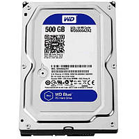 Жесткий диск 3.5' 500Gb Western Digital Blue, SATA3, 64Mb, 5400rpm (WD5000AZRZ)