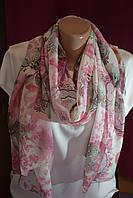 """Жіночий літній шарф """"Рожеве сяйво"""""""