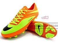 Бутсы (копы) Nike Hypervenom Phelon (0145) оранжевые
