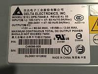 Серверный блок питания Delta DPS-730AB A 730W бу