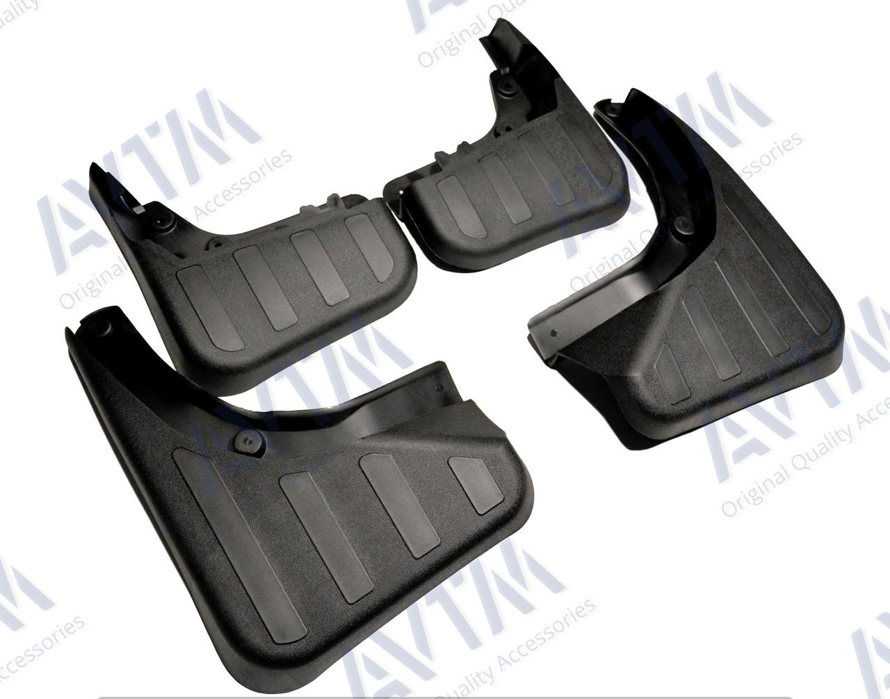 Брызговики AVTM полный комплект для Mercedes-Benz GLK300 (с порогами) 2008-2012 (кт 4-шт) MF.MRDGLK1015