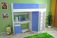 Мебельный комплект с угловым шкафом, Детская мебель