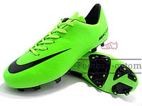 Бутсы (копы) Nike Mercurial (0155) Салатовые