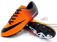 Бутсы (копы) Nike Mercurial Victory (0321) оранжевые