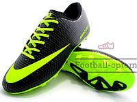 Бутсы (копы) Nike Mercurial Victory (0322) черные