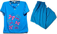 Пижама люкс Турция 100% хлопок размер 2XL ( наш размер 50-52)