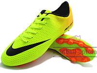 Бутсы (копы) Nike Mercurial Victory (0358) желтые