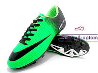 Бутсы (копы) Nike Mercurial Victory (0575) салатовые