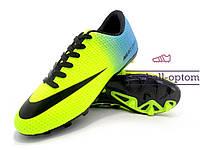 Бутсы (копы) Nike Mercurial Victory (0577) желтые