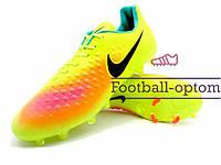 Бутсы (копы) Nike Magista (0505) желтые