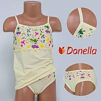 Детский комплект нижнего белья майка+трусики Donella, Турция. Donella 4371XCS-4 6/7-R. Размер на 6-7 лет.