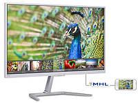 Монитор 23.6' Philips 246E7QDSW/00 White, LED, PLS, 1920x1080, 15мс, 250 кд/м2, 1000:1, 178°/178°, VGA/HDMI/DVI