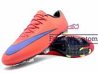 Бутсы (копы) Nike Mercurial Victory (0518) красные