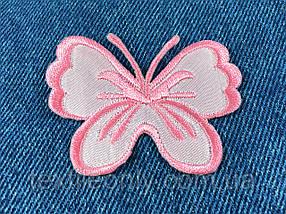 Нашивка метелик big колір рожевий