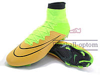 Бутсы (копы) Nike Mercurial Superfly FG (0403) желтые