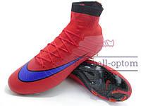 Бутсы (копы) Nike Mercurial Superfly FG (0404) красные