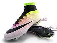 Бутсы (копы) Nike Mercurial Superfly FG (0408) Розовые