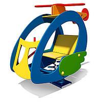 Качалка на пружине Вертолет InterAtletika T209
