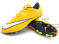 Бутсы (копы) Nike Mercurial (0387) желтые