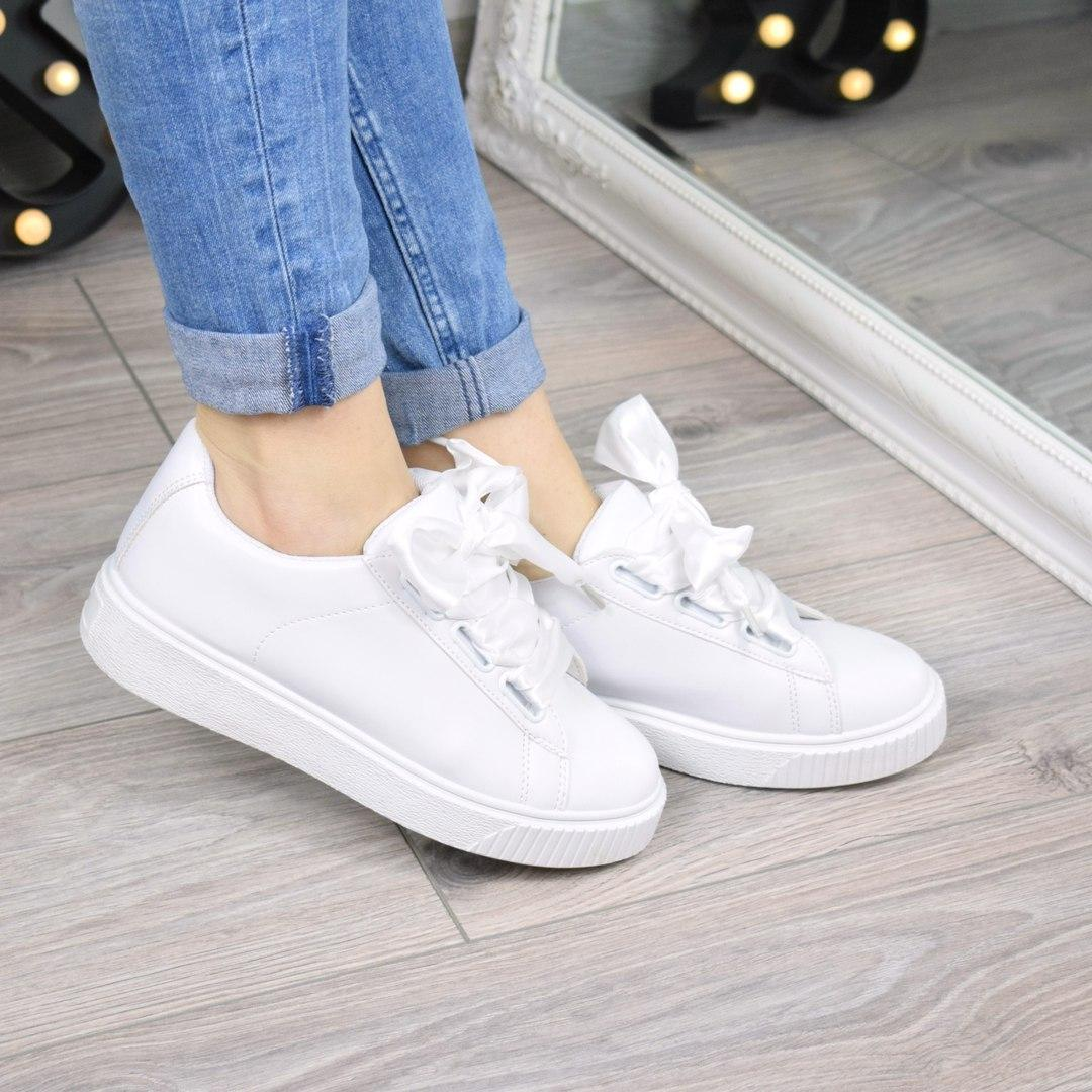 Кроссовки криперы под Puma Rihanna Suede белые 3459  продажа, цена в ... f5ce92c9e82
