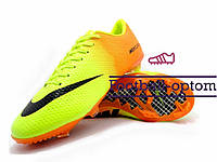 Бутсы (копы) Nike Mercurial (0550) желтые
