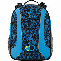 Школьные рюкзаки с ортопедической спинкой Discovery 703.