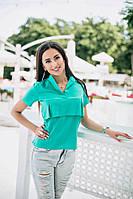 """Интересная Рубашка """"Sina"""" оригинальная выкройка, 3 цвета"""