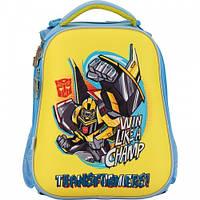 Рюкзак ортопедический для мальчика Transformers 531 Kite.