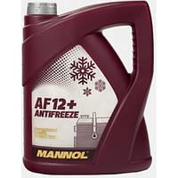 Охлаждающая жидкость Mannol Antifreeze AF12 -40 красный 5л