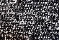 Ткань Костюмка вельвет принт клетка-рогожка большая