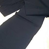 Хлопок темно синий мерный лоскут для печворка и рукоделия, набор 2