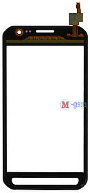 Тачскрин (сенсорный экран) для телефона Samsung G388, G388F серый