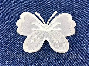 Нашивка метелик big колір білий