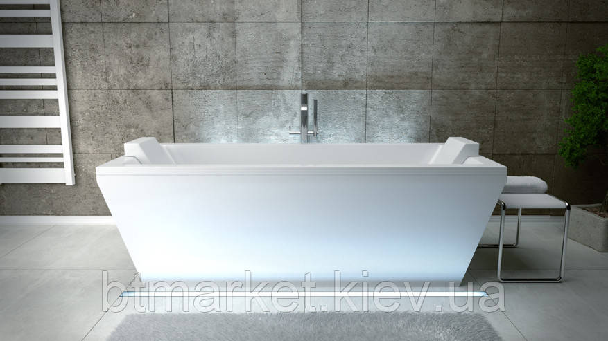 Ванна мраморная Besco Vera 180x80