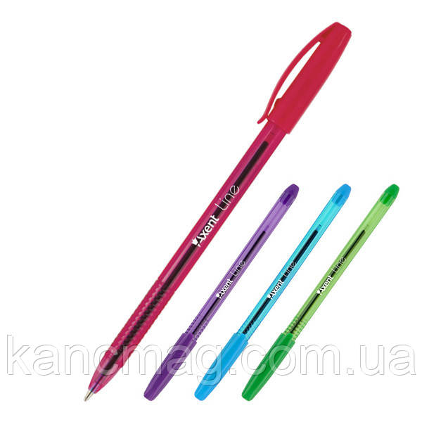 Ручка масляная Axent Line 1060