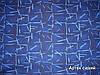 Автомобильный велюр Артек синий