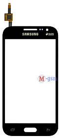 Тачскрин (сенсорный экран) для телефона Samsung G361H, G361F grey